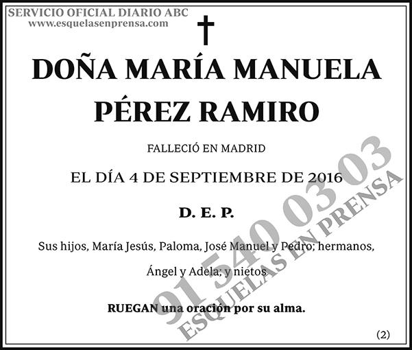 María Manuela Pérez Ramiro